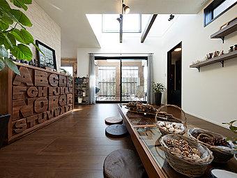 【新規4区画スタート!】閑静な住宅街。ゆったりとした敷地に創る自由設計の家。(区画図イメージイラスト)