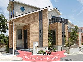 サンシャインコートのある家(12号地/平成27年7月撮影)