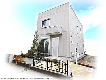【明るくさわやかな 広々19帖リビングの家】(現地8号地モデルハウス/平成28年3月撮影)