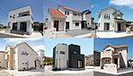 施工例外観:展示場や建売住宅など施工例としてご案内いたしますので、お気軽にお電話ください。TEL:0120-31-8848
