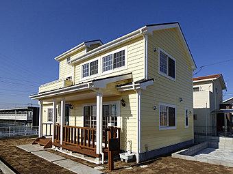 格調高く機能的な北米風住宅です。残り1棟!お気軽にお問い合わせ下さい。→0120-742-033