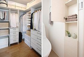 空間をすっきりと保つ豊富な収納※施工例写真