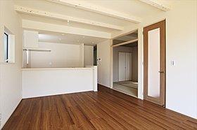 LDKと和室を併せて21.3帖の広々空間
