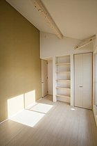 将来的に2室に変更可能な2ドア1ルーム
