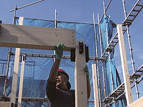 高品質な住宅をお得に量産できる工業化木造住宅を生産