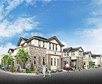 急行停車「春日部」駅利用。白を基調に洗練された全12邸の街。
