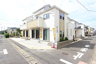 【外観】小田急江ノ島線「鶴間駅」徒歩7分の立地に新6邸誕生です!