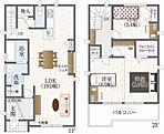 7号地モデルハウスプラン(納戸とロフトのある家)は収納力が違います♪
