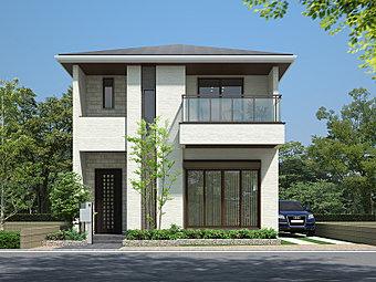 【F号地モデルハウス】キッズライブラリーのある家。あきのこないコンテンポラリーなデザイン