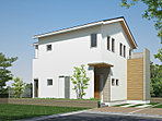 【B号地モデルハウス】壁紙がとってもシャレな邸。公開開始しました!