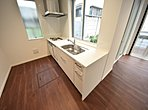 施工例 革新的なデザイかせないキッチンワークに歓びをプラス。