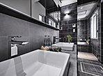 施工例 革新的なデザインと優れた機能性を兼ね備えた見晴らしの良いフルオープンキッチン。
