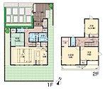 3号棟 4LDK+2S 3,760万円 敷地面積/150.94m2 延床面積/104.76m2