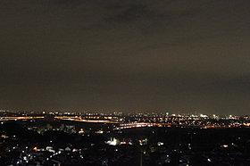 豊田・岡崎の市街地を一望できます