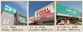 便利で多彩なショッピング施設