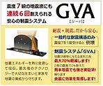 【地震への備え】制震システムGVA採用☆