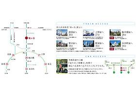 東京メトロ南北線の乗り入れで都内へのアクセスもスムーズ