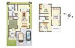 【参考プラン図:7号地】 土地価格:1,348万円、建物価格:1,717万円