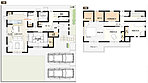 7号棟:敷地面積/180.12m2(54.48坪) 建物面積/115.10m2(34.75坪)