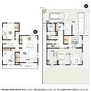16号棟:敷地面積/173.16m2(52.38坪) 建物面積/117.72m2(35.55坪)