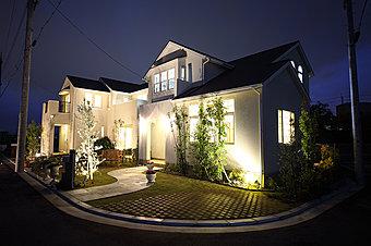 当社施工例。お客様と共に作り上げていく分譲住宅です。