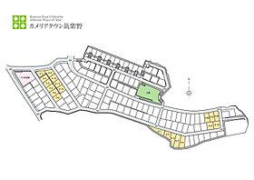 5-10は東南の角地で、同団地においても数か所しかない立地