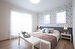 モデルハウス ひろーい洋室はご家族構成によって間仕切ることも可能です!