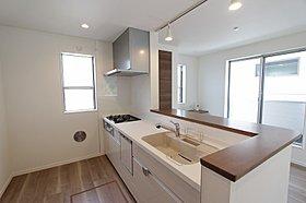 同仕様施工例:キッチン 実物の内装とは異なります