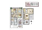【AP-105号地】…現地オープンハウス平面図面