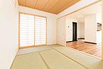 LDKと続き間の和室で約22.5帖の集いの空間が生まれます。