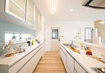 9号地 新モデルハウス間取図(家事動線、収納、家具配置をしっかり考慮したプラン)