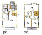 建物プラン例 建物価格1474万円、建物面積100.28m2