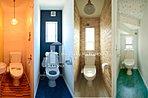 大切なパーソナル空間、お手洗いの施工一例になります。