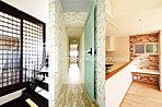 当社施工の一例になります。お部屋の扉や引き戸、壁紙床材、すべてお客様のお好みでお選びいただけます。豊富な標準設備でおうちづくりをお手伝いいたします。
