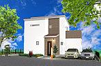 [イメージパース]低価格で自由設計を楽しんで頂けるオンリーワンの家※93m2より建築可 1400万円~