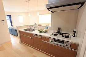 モデルハウスキッチン