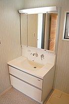 当社施工例「クリアブライトコート寝屋川」 洗面台