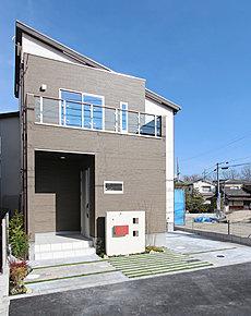 1号地モデルハウス外観です。