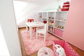 2階子供部屋のロフト