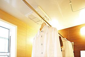 雨の日でもお洗濯ものが出来る浴室換気乾燥機