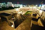 東名三好店 夜の屋上 屋上付き住宅があれば、360℃パノラマの空が手に入ります。