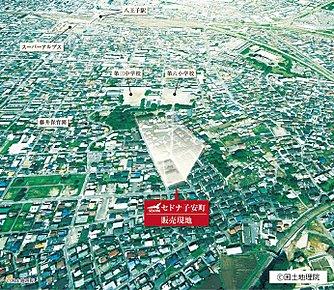 【現地空撮写真】八王子駅・片倉駅の2駅4路線利用可能の便利な立地です