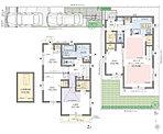 20号棟 土地面積123.59m2 建物面積95.51m2 4LDK(フレックスウォールは有償)3698万円