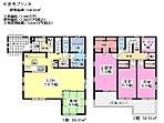 参考プラン(建物面積:106.82平米、建物価格:1,800万円(ぜいこむ))