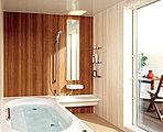浴室は1坪サイズが標準仕様。ゆったりと、おくつろぎください。梅雨の時期の洗濯物や、冬場の入浴にも安心の浴室暖房・乾燥機もモチロン標準仕様。