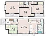 【1号棟】2wayに使える和室。LDKはゆとりの15.5帖。人気の対面式キッチン。自然なコミュニケーションを育むリビングイン階段。水廻りを集約させた機能的な家事動線。主寝室はゆったり9.75帖。