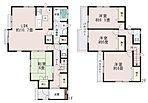 2wayに使える和室。LDKはゆとりの16.75帖。水廻りを集約させた機能的な家事動線。全居室6帖以上、主寝室はゆったり8帖。収納充実。ワイドバルコニー。【飯田ホームトレードセンター(株)鷺沼営業所】