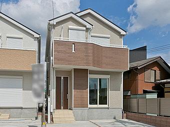 JR横浜線「古淵」駅 徒歩8分、駅からのアクセス便利♪穏やかな雰囲気漂う、暮らしやすい住宅地に新築分譲住宅 全2棟が誕生いたします!!カースペースは2台分(車種による)ございます♪