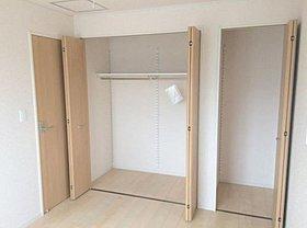 全居室に収納完備!生活空間を広々活用いただけます!