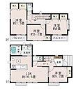【B号棟】LDKはゆったり19帖。人気の対面式キッチン。自然なコミュニケーションを育むリビングイン階段。収納充実。【ご見学の際は、飯田ホームトレードセンター(株)までtel:0120-42-1588】